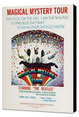 Magical Mystery Tour - 27 x 40 Movie Poster - Style A - Museum Wrapped Canvas