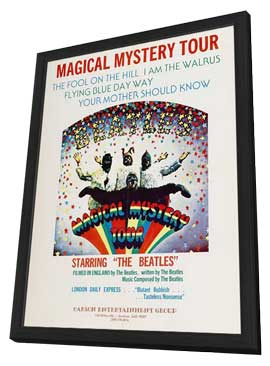 Magical Mystery Tour - 11 x 17 Movie Poster - Style A - in Deluxe Wood Frame