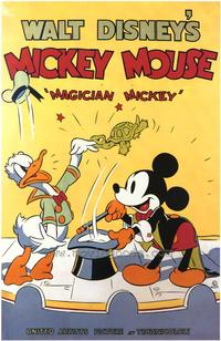 Magician Mickey - 43 x 62 Movie Poster - Bus Shelter Style A