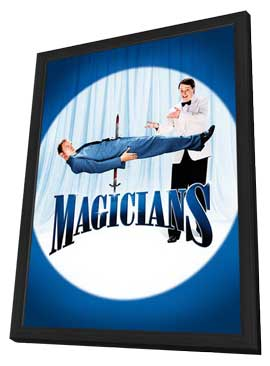 Magicians - 11 x 17 Movie Poster - Style A - in Deluxe Wood Frame
