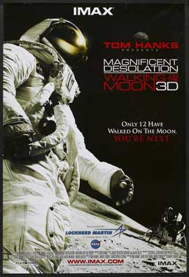 Magnificent Desolation: Walking on the Moon 3D - 27 x 40 Movie Poster - Style A