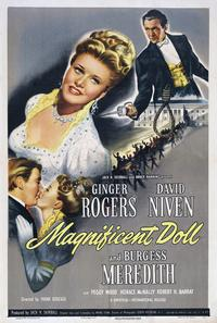 Magnificent Doll - 43 x 62 Movie Poster - Bus Shelter Style A