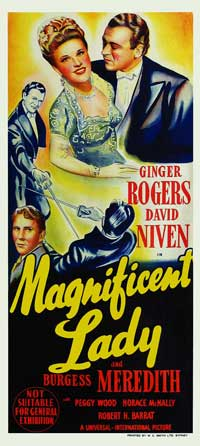 Magnificent Doll - 13 x 30 Movie Poster - Australian Style A