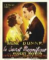 Magnificent Obsession - 11 x 17 Movie Poster - Belgian Style A