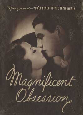 Magnificent Obsession - 11 x 17 Movie Poster - Style B
