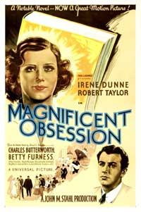 Magnificent Obsession - 27 x 40 Movie Poster - Style A