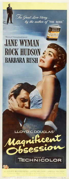 Magnificent Obsession - 14 x 36 Movie Poster - Insert Style A