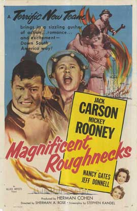 Magnificent Roughnecks - 27 x 40 Movie Poster - Style A