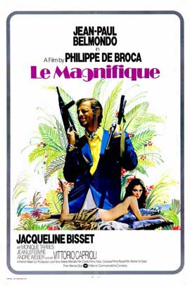 Le Magnifique - 11 x 17 Movie Poster - Style B