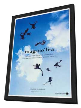 Magnolia - 11 x 17 Movie Poster - Style B - in Deluxe Wood Frame