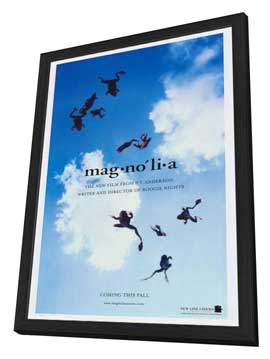 Magnolia - 27 x 40 Movie Poster - Style B - in Deluxe Wood Frame