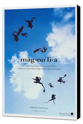 Magnolia - 11 x 17 Movie Poster - Style B - Museum Wrapped Canvas