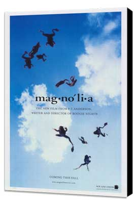 Magnolia - 27 x 40 Movie Poster - Style B - Museum Wrapped Canvas