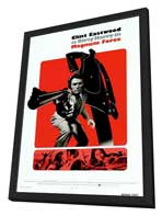 Magnum Force - 27 x 40 Movie Poster - Style E - in Deluxe Wood Frame