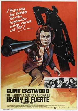 Magnum Force - 27 x 40 Movie Poster - Spanish Style A
