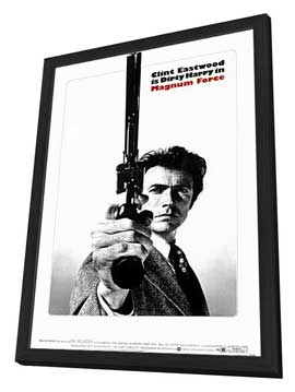 Magnum Force - 11 x 17 Movie Poster - Style C - in Deluxe Wood Frame