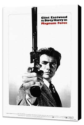 Magnum Force - 11 x 17 Movie Poster - Style C - Museum Wrapped Canvas