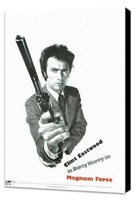 Magnum Force - 27 x 40 Movie Poster - Style D - Museum Wrapped Canvas