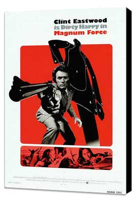 Magnum Force - 27 x 40 Movie Poster - Style E - Museum Wrapped Canvas