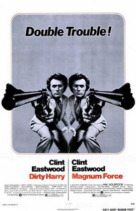 Magnum Force / Dirty Harry - 11 x 17 Movie Poster - Style A