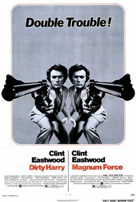 Magnum Force / Dirty Harry - 27 x 40 Movie Poster - Style A