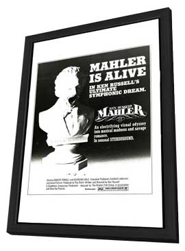 Mahler - 11 x 17 Movie Poster - Style A - in Deluxe Wood Frame