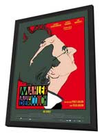 Mahler on the Couch - 27 x 40 Movie Poster - German Style A - in Deluxe Wood Frame