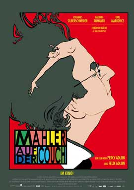 Mahler on the Couch - 11 x 17 Movie Poster - German Style A