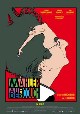Mahler on the Couch - 27 x 40 Movie Poster - German Style A