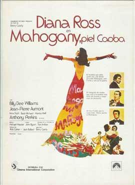 Mahogany - 11 x 17 Movie Poster - Spanish Style A