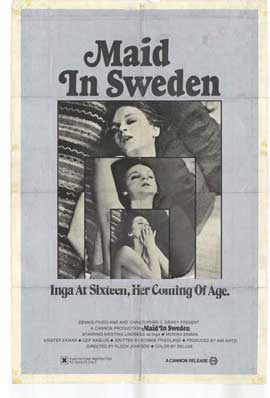 Maid in Sweden - 27 x 40 Movie Poster - Style A