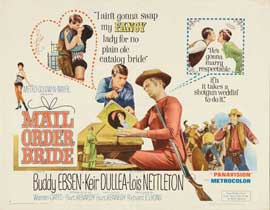 Mail Order Bride - 22 x 28 Movie Poster - Half Sheet Style B