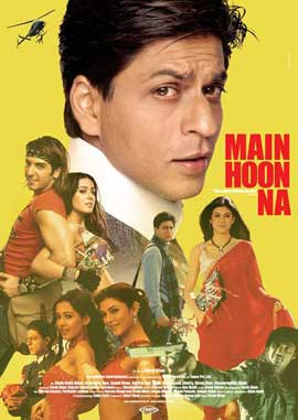 Main Hoon Na - 11 x 17 Movie Poster - German Style A