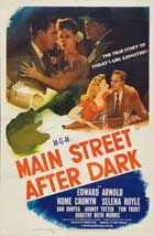 Main Street After Dark - 27 x 40 Movie Poster - Style A