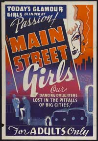 Main Street Girls - 27 x 40 Movie Poster - Style A