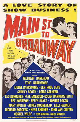 Main Street to Broadway - 11 x 17 Movie Poster - Style A