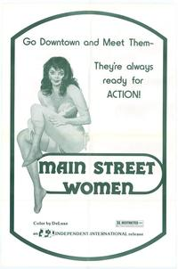 Main Street Women - 11 x 17 Movie Poster - Style A