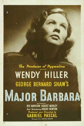 Major Barbara - 27 x 40 Movie Poster - Style A