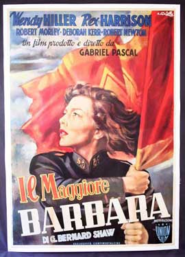 Major Barbara - 27 x 40 Movie Poster - Italian Style A