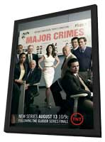 Major Crimes (TV) - 11 x 17 TV Poster - Style A - in Deluxe Wood Frame