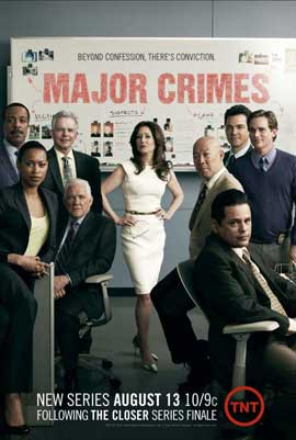 Major Crimes (TV) - 11 x 17 TV Poster - Style A