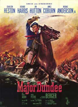 Major Dundee - 11 x 17 Movie Poster - French Style A