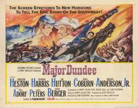 Major Dundee - 11 x 14 Movie Poster - Style A