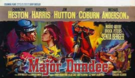 Major Dundee - 20 x 40 Movie Poster - Style A