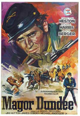 Major Dundee - 27 x 40 Movie Poster - Spanish Style A