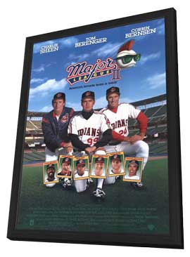 Major League 2 - 27 x 40 Movie Poster - Style A - in Deluxe Wood Frame