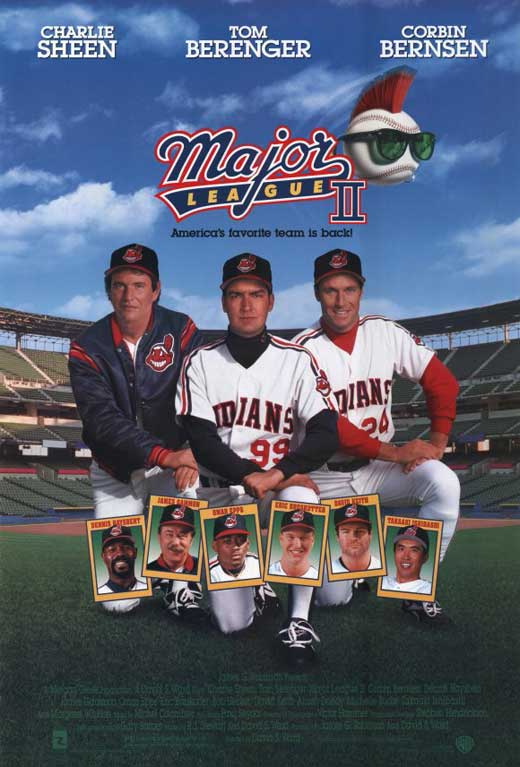 Major League 2 Movie Posters From Movie Poster Shop