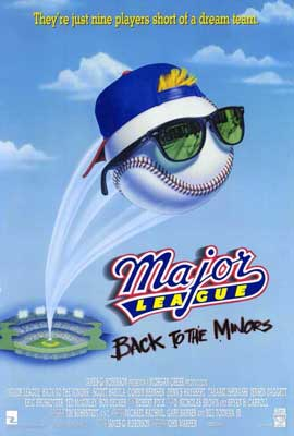 Major League 3: Back to the Minors - 27 x 40 Movie Poster - Style A