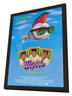 Major League - 27 x 40 Movie Poster - Style A - in Deluxe Wood Frame