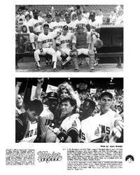Major League - 8 x 10 B&W Photo #2